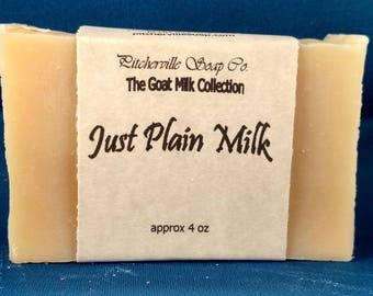 Just Plain Milk
