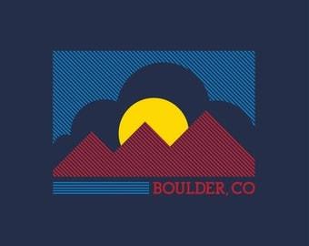 Hometown Boulder T-shirt, Women's