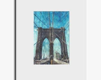 Brooklyn Bridge - Fine Art Print