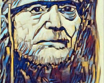 Willie nelson print