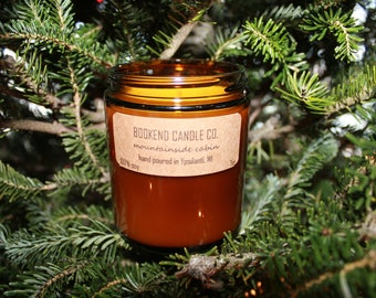 Mountainside Cabin Soy Candle