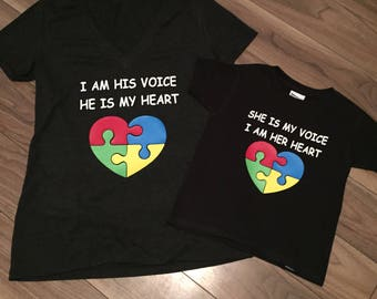 Autism - Mommy & Me Shirts