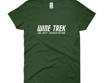 Wine Trek Women's short sleeve t-shirt