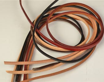 Leather pieces ,Genuine leather scraps, leather crafts, leather cuttings, Leather Shoelace,Bracelet Art crafts