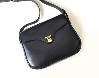 Celine Vintage Navy Bag
