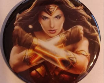Wonder Woman 2.25 Inch Wearable Button