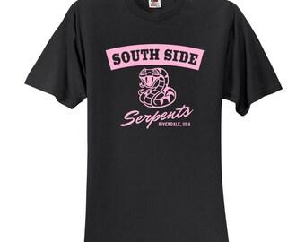 """Riverdale TV Show """"Southside Serpents"""" T-Shirt"""