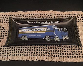 Vintage Greyhound Van Lines Ashtray