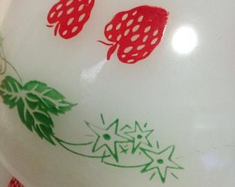 20cm Agee strawberry bowl