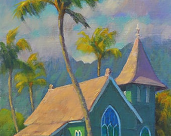 Waioli Church, Hanalei, Kauai