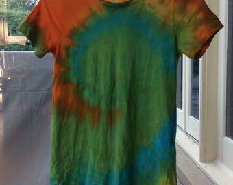 Girls tye dye shirt