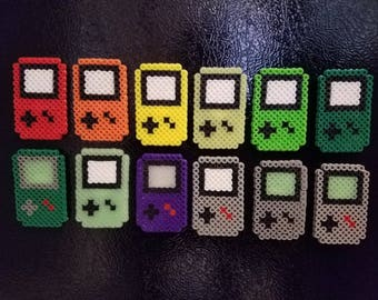 Gameboy Bead Magnets