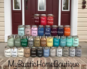 Mason Jar/Add-on Mason Jar/Rustic Home Decor/Farmhouse Decor/Add on Mason Jar/Painted Mason Jar/Painted Mason Jars/Mason Jars