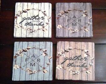Farmhouse Coasters