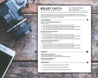 Business Resume Template | Premium Resume Template | CV & Resume Template | MS Word Resume Template