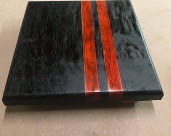 Racing stripes cutting board