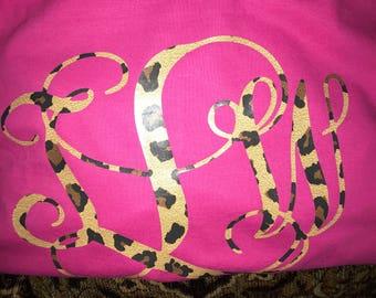 Leopard Monogram