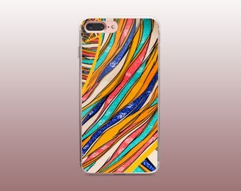 Fabric TPU Phone Case for iPhone 8- iPhone 8 Plus - iPhone X - iPhone 7 Plus-iPhone 7-iPhone 6-iPhone 6S-Samsung S8
