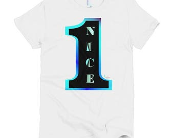 Nice 1, Short sleeve women's t-shirt