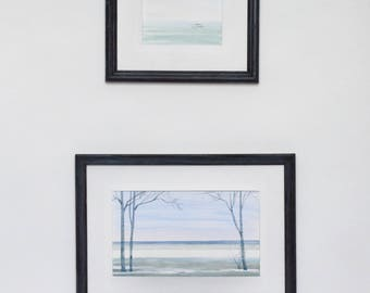 Gulf of Finland, set of 2 paintings