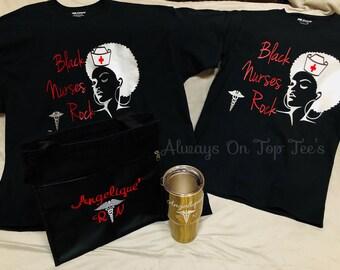 Black Nurse Rock Gift Set
