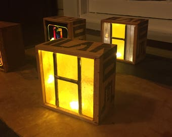 Highland Glass Box in Amber