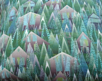 Outdoors envelope pillow cover - Forest