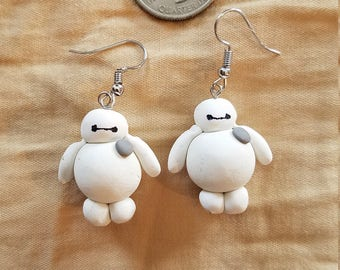 Big Hero 6 Baymax Earrings