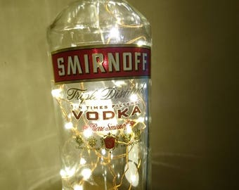 Smirnoff Vodka Bottle LED Light