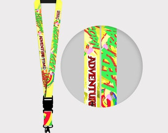 Adventure Time Lady Rainicorn Lanyards