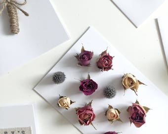 Dried Flower Cards (Assorted Flowers)