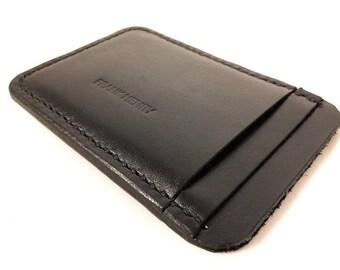 Frank Henry Standard S56 leather cardholder Black