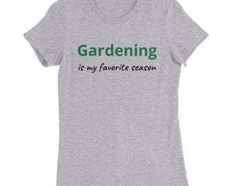 Women's Slim Fit Gardening T-Shirt