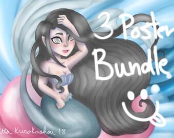 3 Poster Bundle