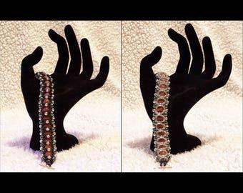 Black & Amber (Reversible Bracelet)