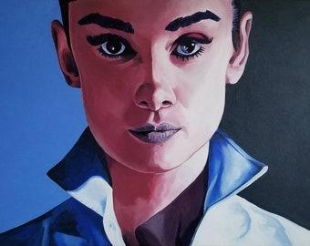 Audrey Hepburn Poster Print