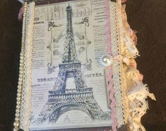 Take me to Paris Junk Journal