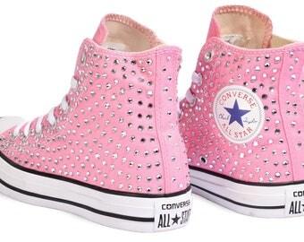Converse Chuck Taylor All Star Classic Swarovski Crystal Pink