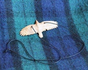 Oak Raven pendant