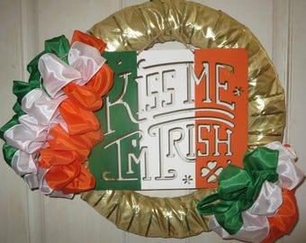 Irish Flag wreath