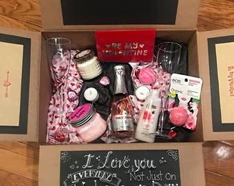 Valentine's Day Spa CareBox
