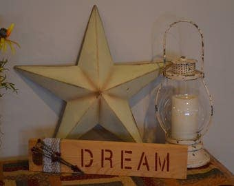 "Handmade ""Dream"" Sign"