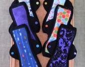 "Set of 5 Reusable Menstrual Pads (10"" Moderate)"