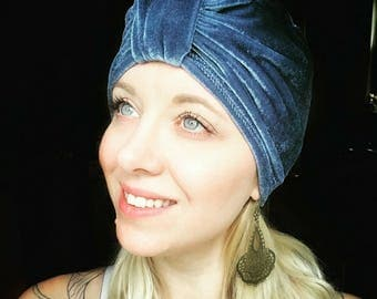 Classic Knotted-style Turban cap