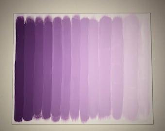 Purple Fade Painting