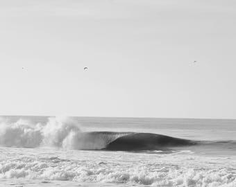 Vintage Crashing Wave