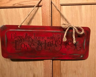Home Decor Love and Laughter