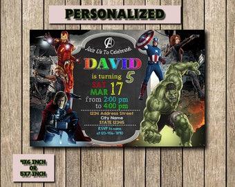 Avengers Invitation,Avengers Birthday,Avengers Birthday Invitation,Avengers Party,Superhero Invitation,Superhero Birthday Invitation