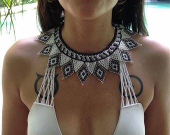 Chaquira Bead Necklace