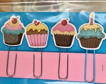 cupcake paper clip